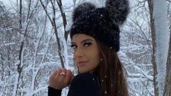 Красивые девочки в зимней одежде (38 фото)