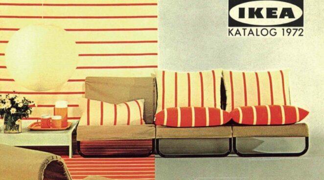 ИКЕА опубликовали каталоги за всю свою 70-летнюю историю