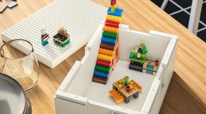 Совместный проект Lego и Ikea порадует и детей и их родителей
