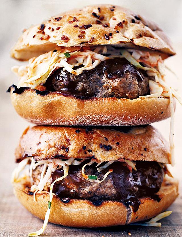 15 необычайно красивых и вкусных гамбургеров
