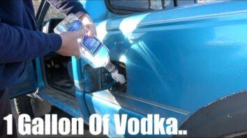 Что будет, если залить водку в бензобак