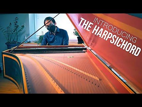 Как звучит игра на клавесине
