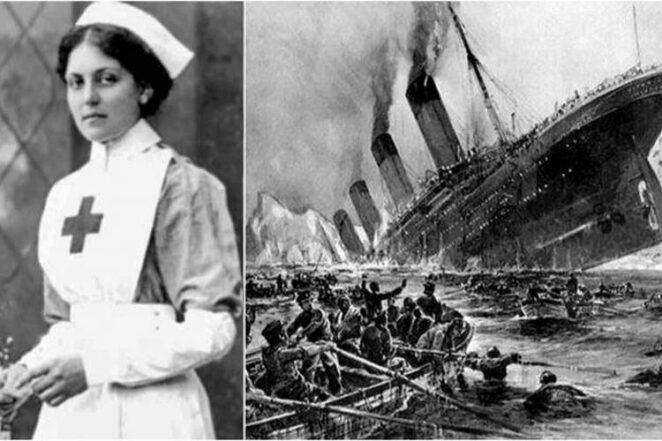 Мисс непотопляемая Вайолет Джессоп - стюардесса, которая пережила гибель Титаника и Британика