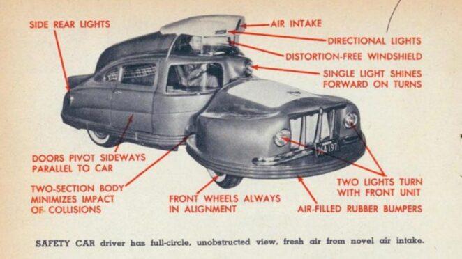 Sir Vival - самый безопасный автомобиль в мире