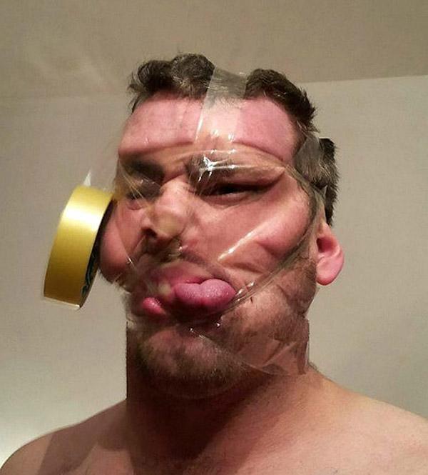Скотч-селфи: Смешные селфи со скотчем, если обычные уже надоели