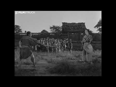 Спарринг-сцена из фильма 1954 года, Семь самураев
