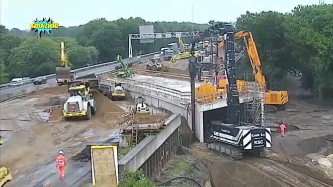 В Нидерландах построили туннель под шоссе за один уик-энд