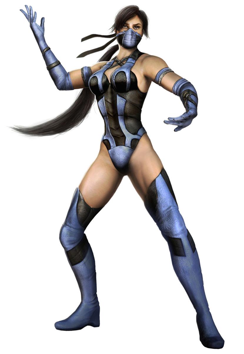 50 горячих косплеев и артов Китаны из Mortal Kombat