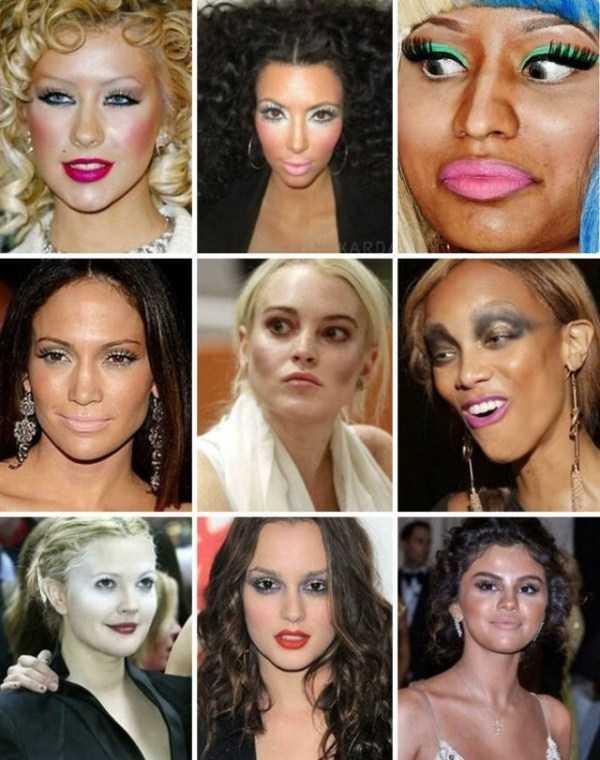 33 девушки, которые явно переборщили с макияжем