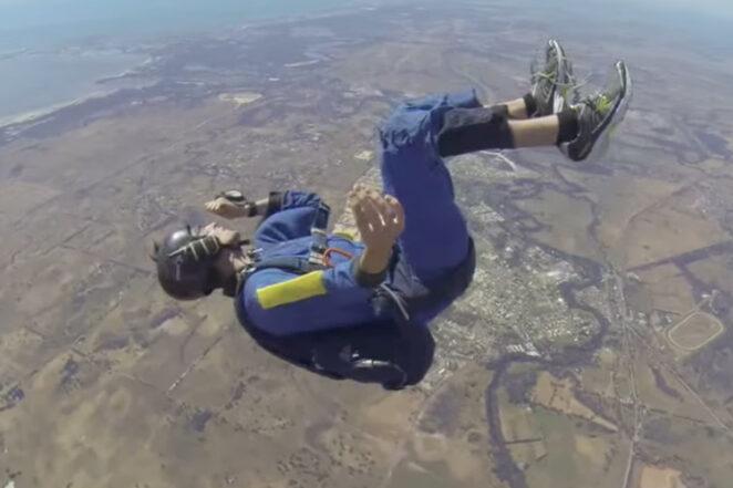 Парашютист потерял сознание на высоте 3000 метров
