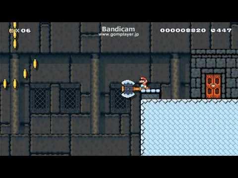 Прохождение сложнейшего уровня в «Super Mario Maker»