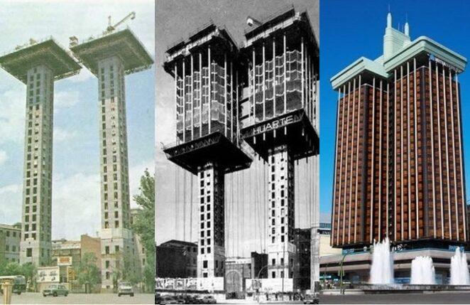 «Торрес де Колон» - здание, построенное сверху вниз