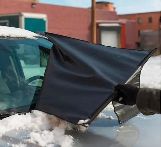 5 простых способов, чтобы замерзшие автомобильные стекла стали историей!