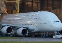 5 крупнейших пассажирских самолетов в мире