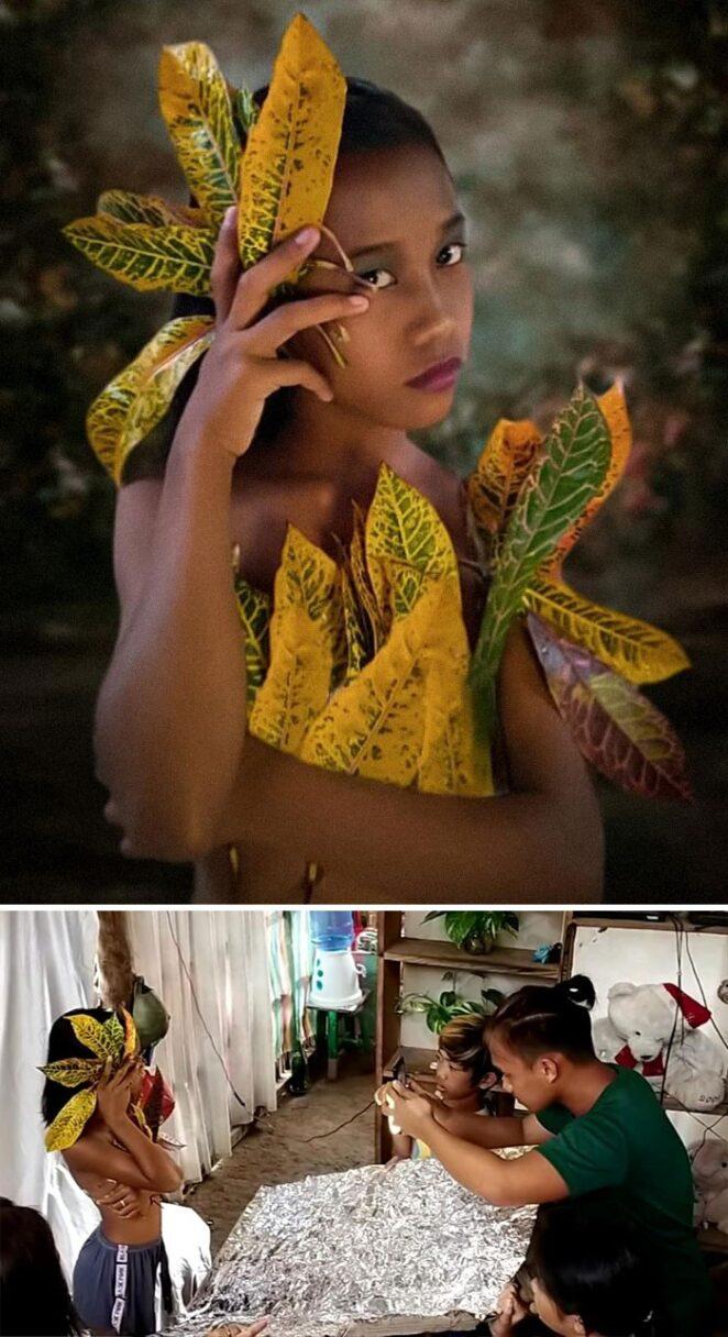Фотограф из Филиппин устроил своим близким малобюджетную фотосессию, и результат оказался потрясающим!
