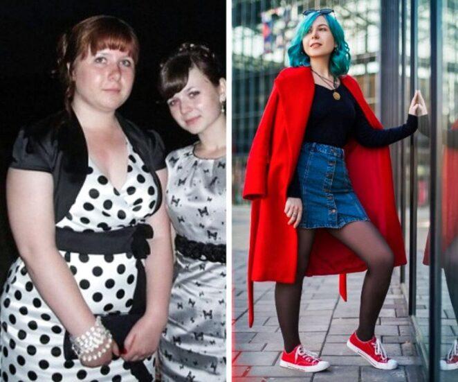 20 женщин показали, как кардинально может измениться внешность с годами.