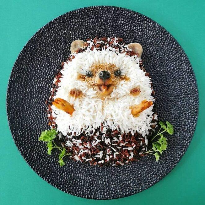 Кулинарное искусство, которое жалко есть