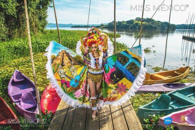 Кандидатки на Мисс Мексика в потрясающих традиционных костюмах!