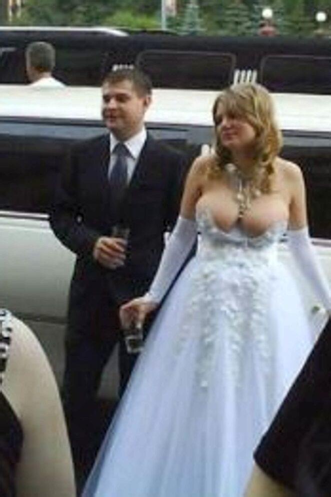 Невесты, которые должны были сказать НЕТ при выборе свадебного платья