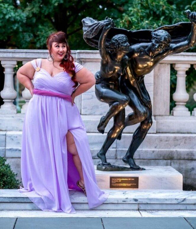 Известные модели плюс сайз в образах принцесс Диснея!