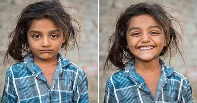 10 фото людей до и после того, как попросили их улыбнуться!
