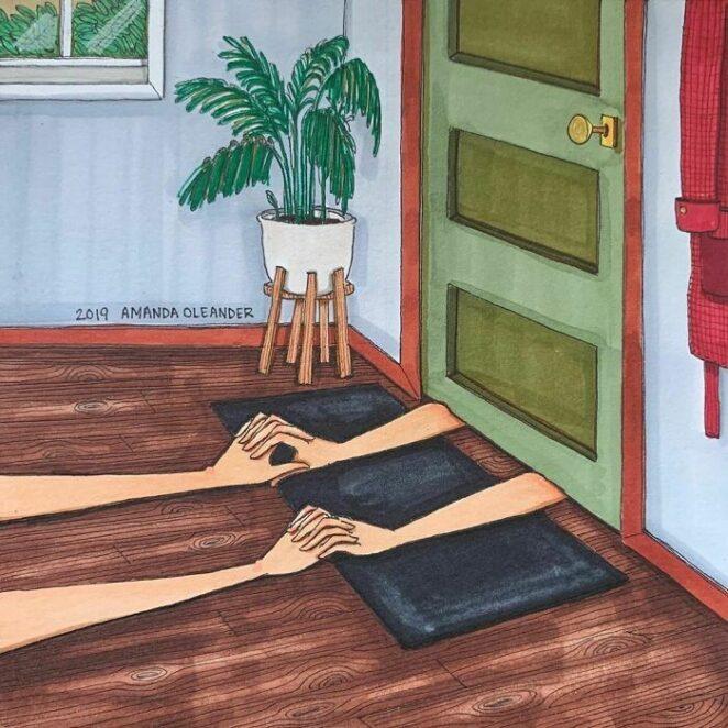Что находится за закрытыми дверями любых любовных отношений?