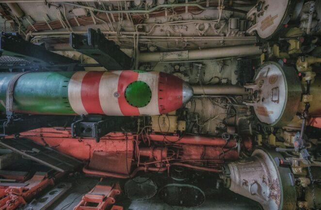Что находится внутри советской подводной лодки проекта 641?