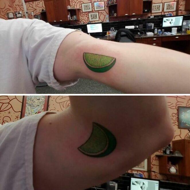 21 необычных татуировок, меняющихся при движении тела!